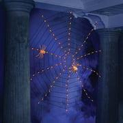 Purple Web Halloween Lights, Set Of 100 Halloween Decoration
