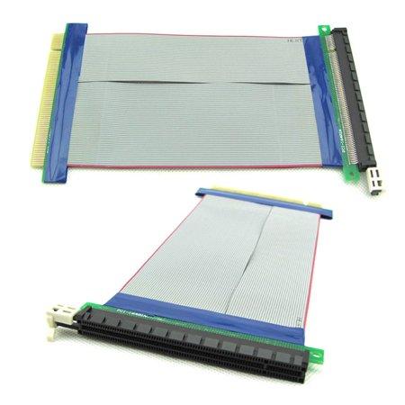 PCI-E PCI Express 16X Riser Card Extender Flex Flexible Extension Cable