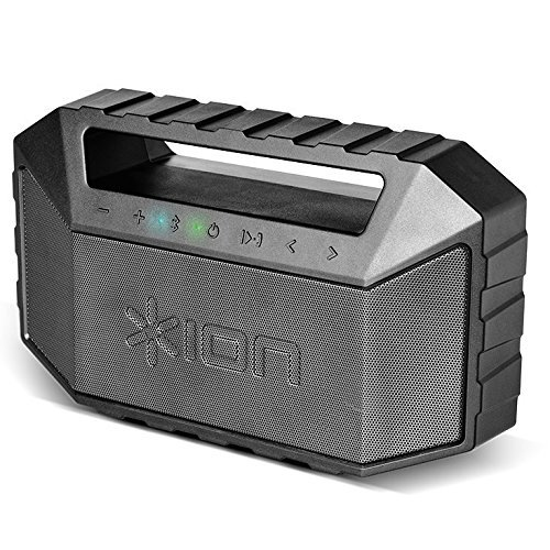 Bluetooth Speaker Waterproof, Ion Boombox Portable Waterproof Speaker Bluetooth
