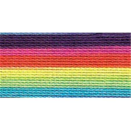 Lizbeth Cordonnet Cotton Size 20-Rainbow Splash (Lizbeth Cordonnet Cotton Cord)