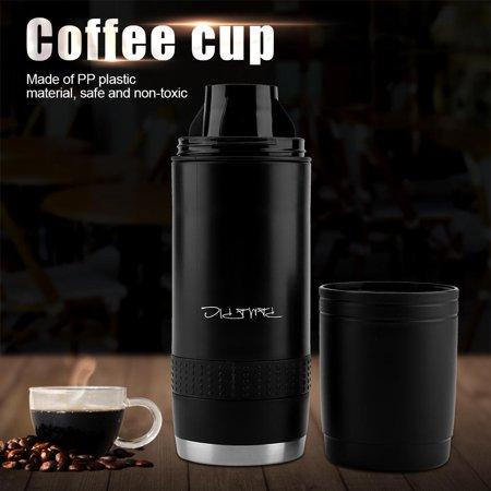Ymiko Compact Handheld Portable Espresso Maker Single Shot Electric Espresso Machine