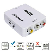 HDMI To RCA Mini Composite 1080P Audio Video AV CVBS Adapter Converter For TV