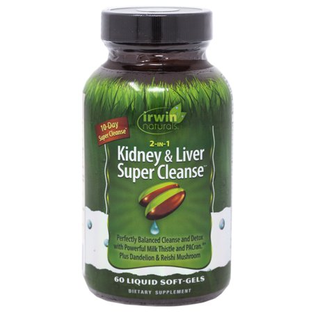 Irwin Naturals 2-IN-1 Kidney & Liver Super