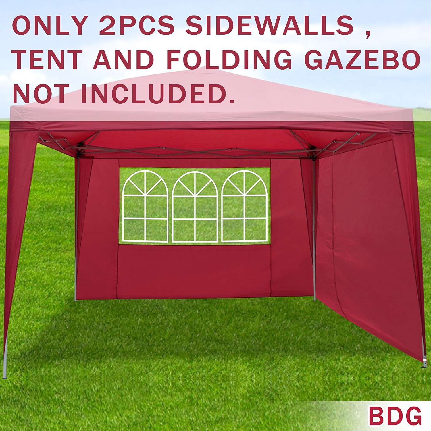 Strong Camel Sidewalls 10u0027X10u0027 Size for Tent Outdoor Pop Up Canopy Gazebo Marquee  sc 1 st  Walmart & Strong Camel Sidewalls 10u0027X10u0027 Size for Tent Outdoor Pop Up Canopy ...