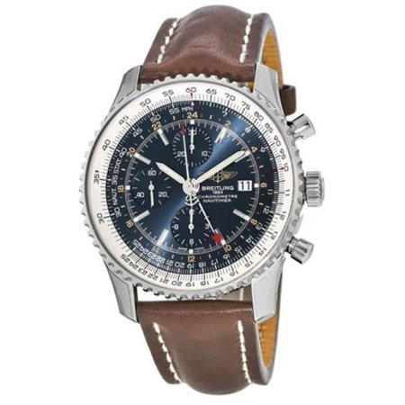 Breitling Navitimer World Chronograph GMT Mens Watch A2432212/C651/443X
