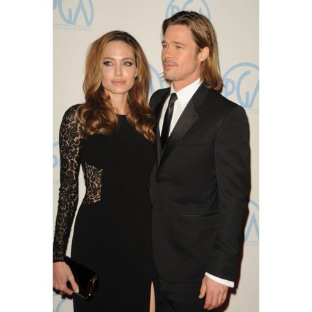 Angelina Jolie Brad Pitt In Attendance For 23Rd Annual Producers Guild Of America Awards The Beverly Hilton Hotel Los Angeles Ca January 21 2012 Photo By Dee CerconeEverett Collection Celebrity - Brad Pitt And Angelina Jolie Halloween Costume