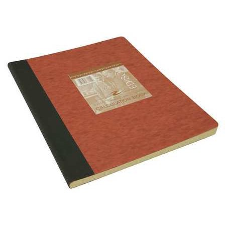 - ROARING SPRING Lab Notebook,9-1/8 in. x 11-3/4 in.,Red 77155