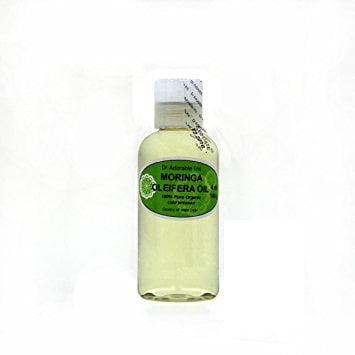 Dr. Adorable - 100% Pure Moringa Oil Organic Cold Pressed Natural Hair Skin- 4 oz