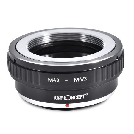 Adapter Lens Adapters - Tbest K&F CONCEPT Lens Adapter Ring Manual Focus Exposure for Panasonic M4/3 Mount for M42 Lens,Camera Adapter Ring, Lens Mount Adapter