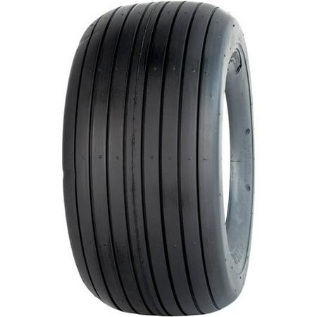 Greenball Rib 11X4.00-5 4 PR Rib Tread Tubeless Lawn and Garden Tire (Tire (Tubeless Rib Tread Tire)