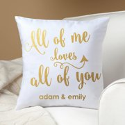 Personalized Pillow - All of Me Loves All of You