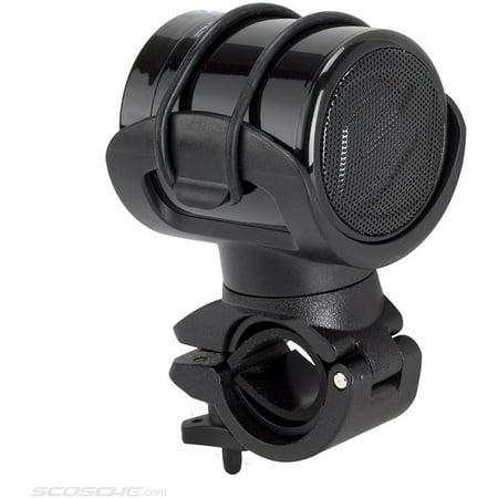 Scosche boomBARS Wireless Speaker for Bikes, Black Scosche boomBARS Wireless Speaker for Bikes: Built-in power3mm speakerCompact designCompact wireless speaker features 360-degree swivelColor: black