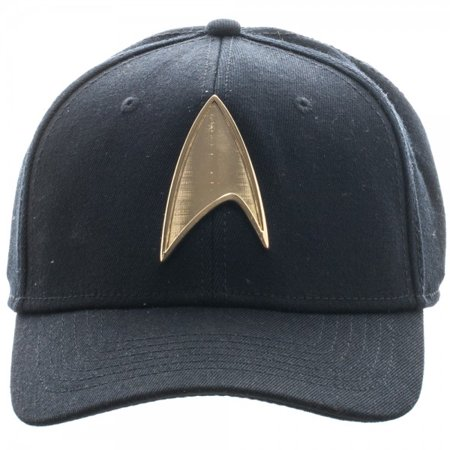 4d6787d18f Star Trek - Baseball Cap - Star Trek - Metal Badge Flex Cap New Toys  Licensed bx30y4sta - Walmart.com