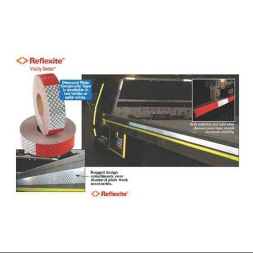 "REFLEXITE 18621 Consp Tape,Truck and Trailer,2""X8.33Yd"