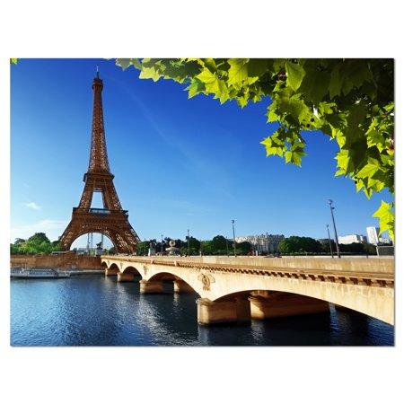 Bridge to Paris Paris Eiffel TowerParis - Cityscape Canvas Print - image 1 of 3