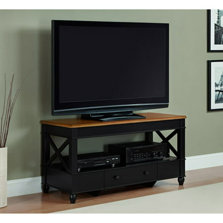 Better Homes And Gardens Autumn Lane Cherry Black Tv Stand For Tvs Up To 45