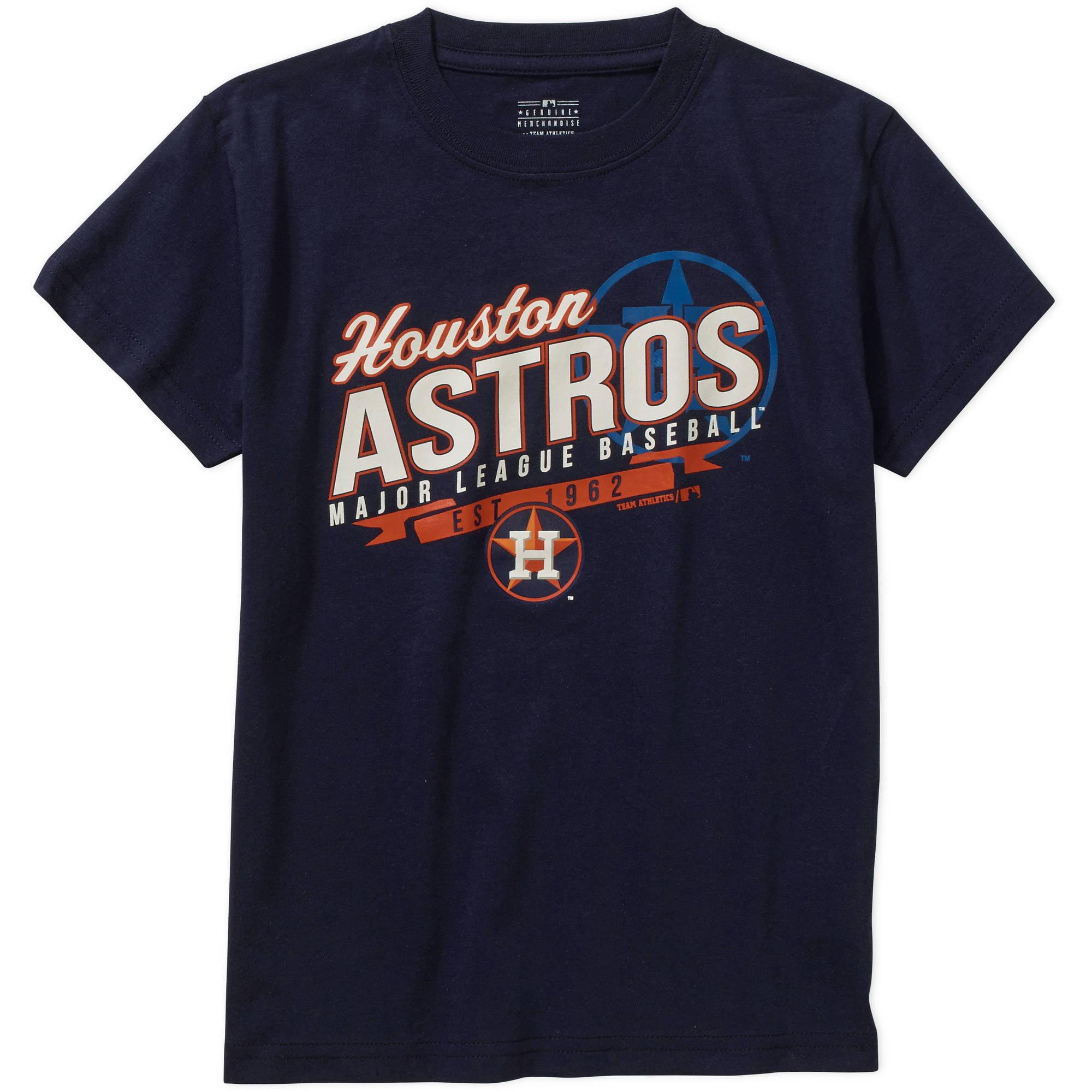 MLB  Boys' Houston Astros  Team Short Sleeve Tee