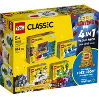 LEGO Masters Co-pack 66666 Creative Building Toy Value Set (613-Pieces)
