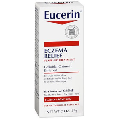 Eucerin Eczema Relief Instant Therapy Creme - 2oz (Best Products For Eczema On Face)