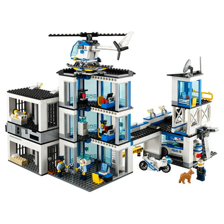 Lego City Police Station 60141 Building Set 894 Pieces Walmartcom