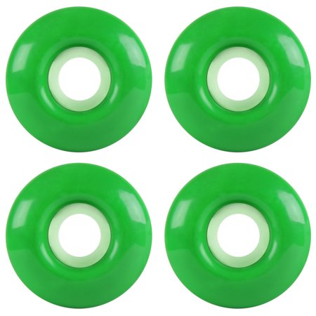 Blank Gloss Wheel - 53mm Kelly Green (362C) Set of 4 ()