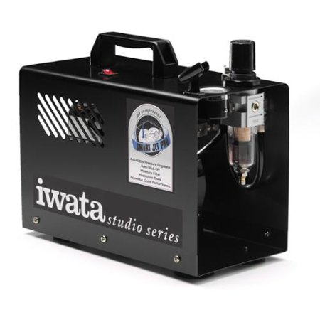 Jet Compressor (Iwata-Medea Studio Series Smart Jet Pro Single Piston Air Compressor )