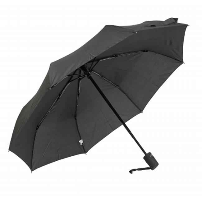 Frankford Umbrellas RM01-BLK Mini Triple fold Umbrella - Black