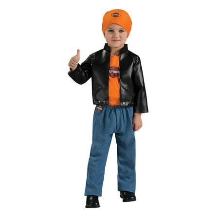 Harley Davidson Halloween (Harley Davidson Boy Baby Costume 6-12)