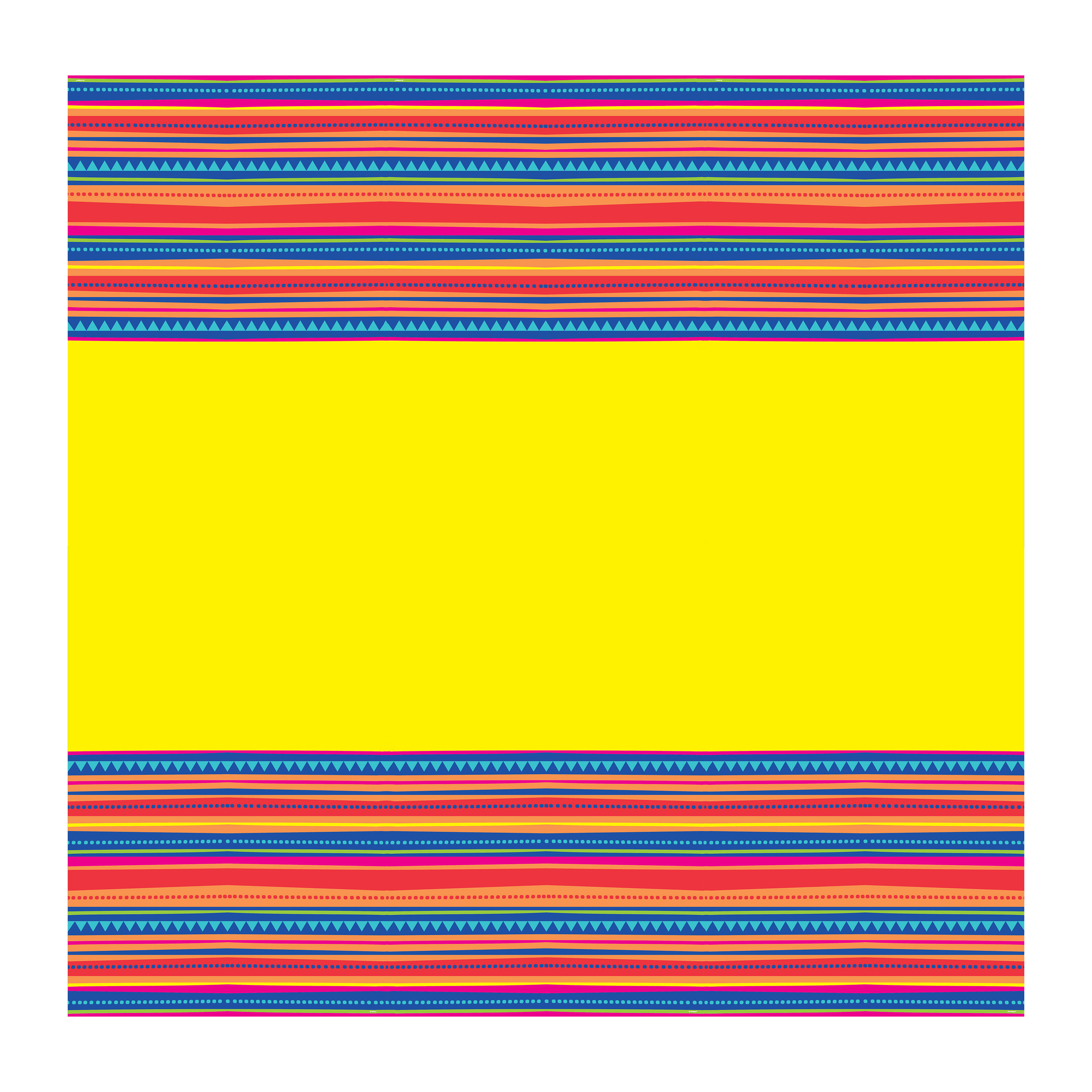 Serape Fiesta Plastic Tablecloth, 84 x 54 in, 1ct