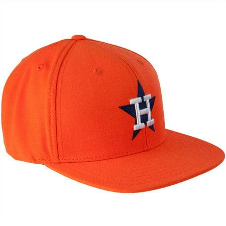 Houston Astros - 1971 Logo MLB 400 Adult Flat Brim Snapback Cap