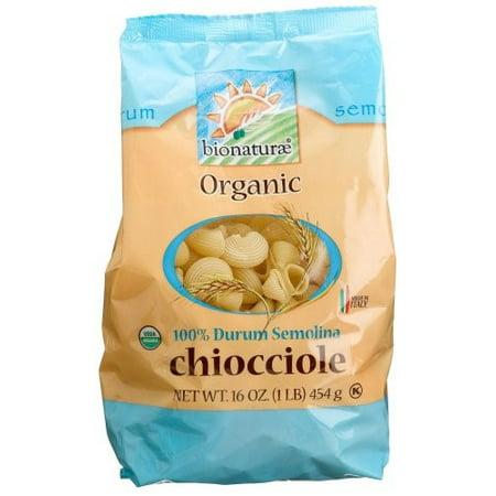 (6 Pack) Bionaturae Organic 100% Durum Semolina Chiocciole Pasta, 16
