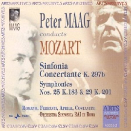 Mozart: Sinfonia Concertante, K. 297b / Symphonies Nos. 25 & 29