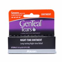 Genteal Tears Nighttime Ointment, Severe Eye Symptom Relief, 3.5g