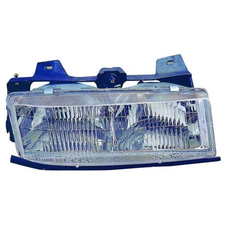 Go-Parts » 1989 - 1991 Pontiac Tempest Front Headlight Headlamp Assembly Front Housing / Lens / Cover - Right (Passenger) Side 16515224 GM2503111 Replacement For Pontiac -