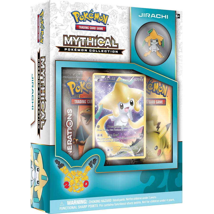 Pokemon 2016 Mythical Pin Box Jirachi