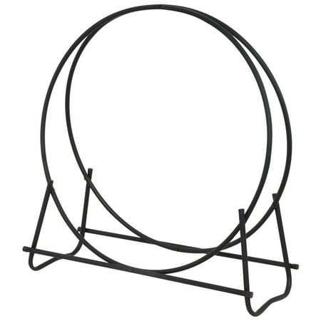 Outdoor Log Hoop (Blue Rhino 40 inch Black Log Hoop)