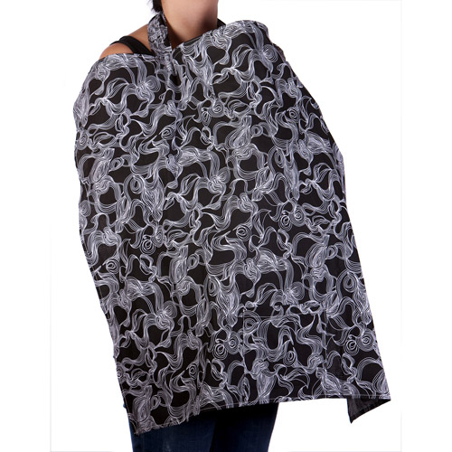 My Brest Friend Nursing Cover, Black and White Dreamy
