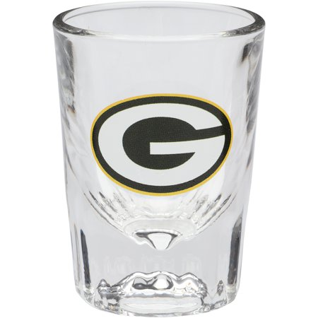 Green Bay Packers 2oz. Fluted Collector Shot Glass - No Size](Glass Monkey Green Bay)