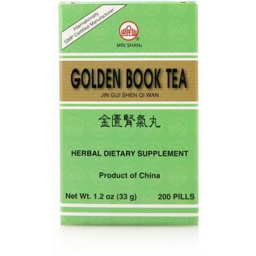 Min Shan Golden Book TeaPills (Jin Gui Shen Qi Wan) 200 ct (Jin Gui Shen Qi Wan)