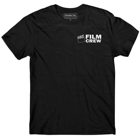 Film Crew T-shirt Glow in the dark, Production crew, Movie crew, Staff t-shirt Initial Production Tank