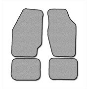 Averys Floor Mats 1027-718 Custom-Fit Nylon Carpeted Floor Mats, Gray, 4 Piece Set