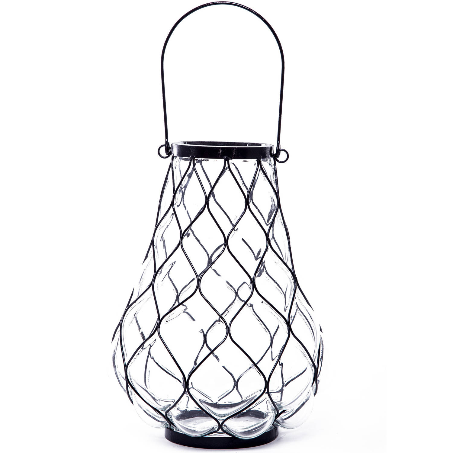 Better Homes and Gardens Pineapple Caged Lantern