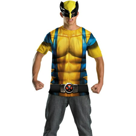 Wolverine No Scars Alternative Adult Halloween Costume (Wolverine Deluxe Costume)