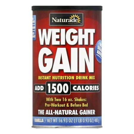 Naturade Sugar Free Weight Gain, 16.93 OZ