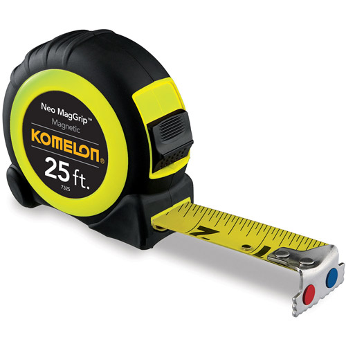 Komelon Usa Corporation 7325 25' Neo MagGrip Magnetic Tape Measure