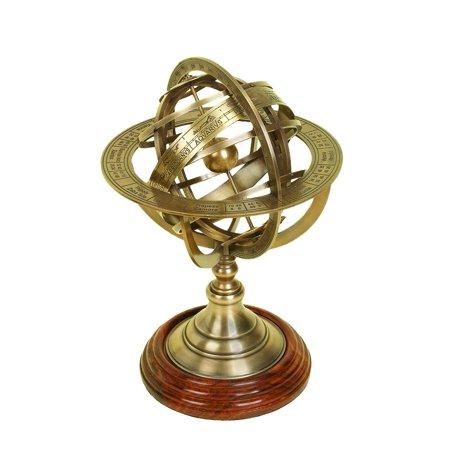 Brass Globe Armillary Unique Table - Armillary Sphere Globe