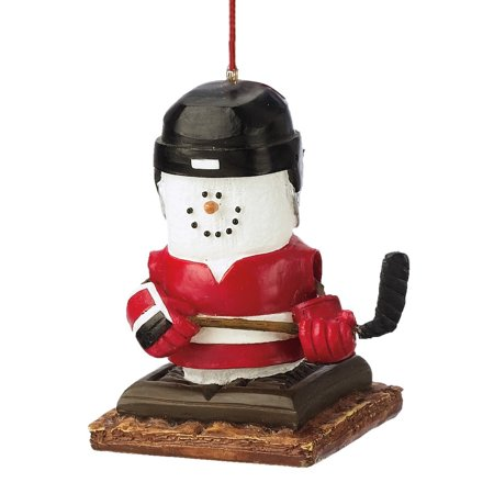 S'mores Hockey Player Ornament