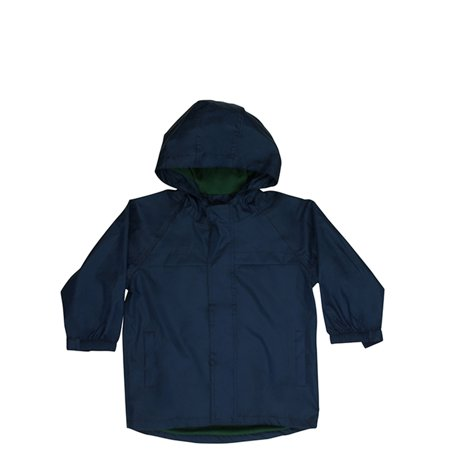 Western Chief Solid Nylon Rain Slicker Coat (Little Boys & Big Boys) (Leather Jacket For Boys)