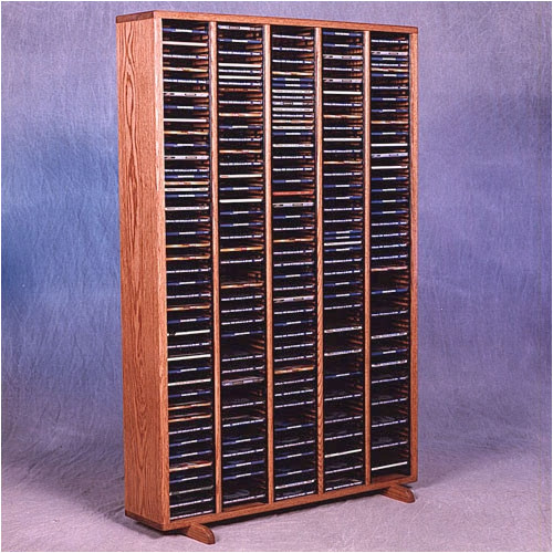 Wood Shed 400 Series 400 CD Multimedia Storage Rack