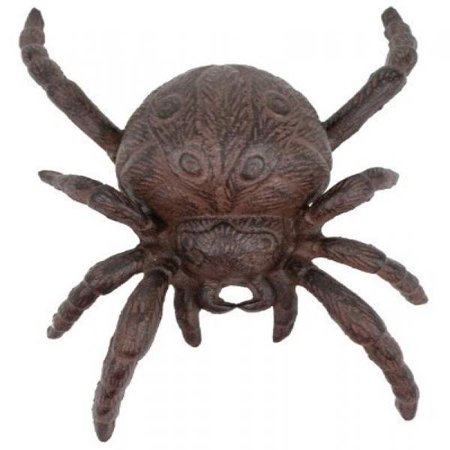 Halloween Cast Iron Halloween Spider Garden Statue Patio Yard